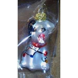 Disney Dogs Blown Glass Retired Ornament (Dalmation) NEW