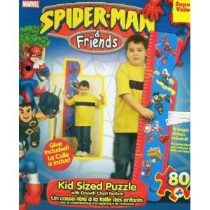 & Friends Kid Sized Growth Chart Puzzle   4 Feet Tall: Toys & Games