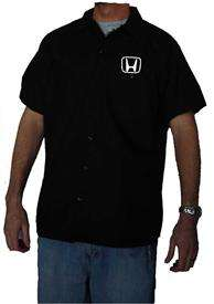 Authentic DICKIES Honda Work Shirt New Short Sleeve Button Up