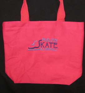 Ice Skate Rink Side Tote Bag, Hockey Blade Coach