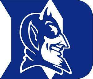 Duke Blue Devils NCAA Basketball Auto Car Decal Sticker