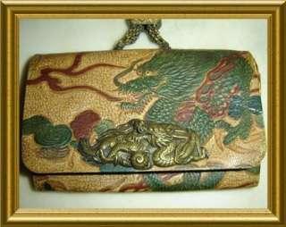 ANITIQUE *MUSEUM QUALITY*,JAPAN MEIJI PERIOD *Dragon* Kagamibuta