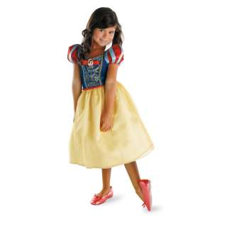 SNOW WHITE classic disney princess girls costume S 4 6