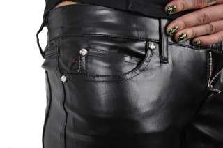 TRIPP NYC VEGI GOTHIC PUNK BLACK VINYL GOTH PANTS VM2494