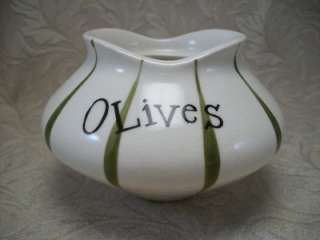 VINTAGE HOLT HOWARD PIXIEWARE OLIVES PIXIE JAR 1950S