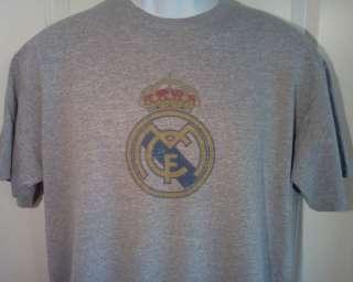 REAL MADRID C.F. Football Club Soccer T Shirt XXL
