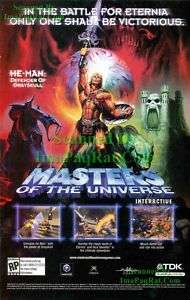 He Man Masters of the Universe Grayskull Battle Cat Ad