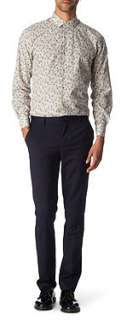 PAUL SMITH LONDON Floral slim fit single cuff shirt