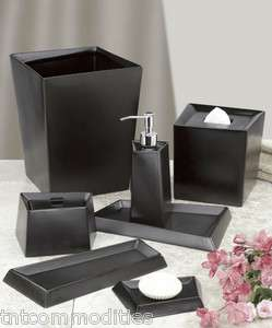 Matte Ceramic Bath Accessories Bathroom Collection ~ Choice