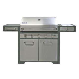 5 Burner Stainless Steel Grill
