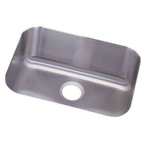 Revere Undermount Stainless Steel 15.75x21x8 Single Bowl Kitchen Sink
