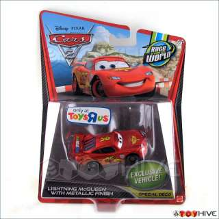 Disney Pixar Cars Lightning Mcqueen Metallic Toys R Us