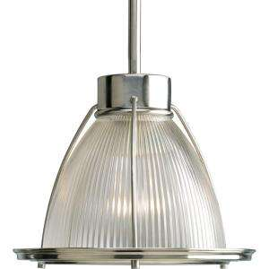 Progress Lighting Brushed Nickel 1 light Mini Pendant P5163 09 at The