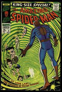 AMAZING SPIDER MAN KING SIZE SPECIAL #5 1ST APP PARENTS