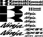 MOTORBIKE ZX9R ZX 9R NINJA RACE DECAL STICKER GRAPHICS
