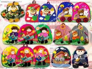 Boy Kids Toddlers Cute Backpack School Bag Toy Doll