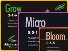 ADVANCED NUTRIENTS 3 PART MICRO BLOOM GROW 500 ML