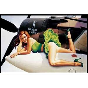 Poster 91,5x61   Flieger Pinup Girl US Army Sexy Bild