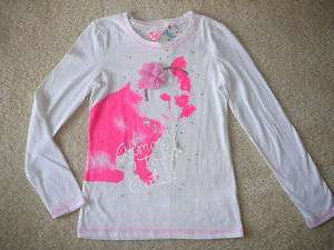 NWT GIRLS JUSTICE NEON PINK DOG T SHIRT 12 14 16 18 20