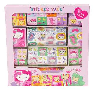 Sanrio   Hello Kitty Slumber Party Sticker Pack Box