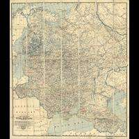 85 antique maps RUSSIA RUSSIAN history VILLAGES towns GENEALOGY old