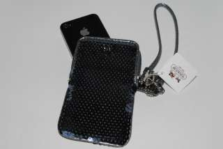 Sequin Wristlet Case iPhone 3g 4g Ipod Touch Cell Phone Bag