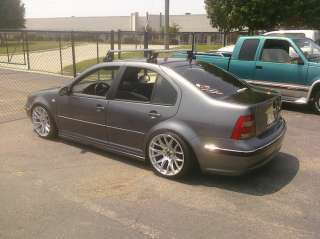 18 Miro 111 Hyper Silver Staggered Wheels Rims Fit VW Jetta MK4 1992