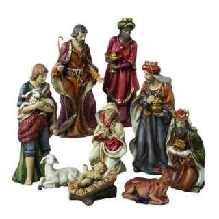 Adler 9 In. Porcelain Nativity Set (9 Piece) J1213