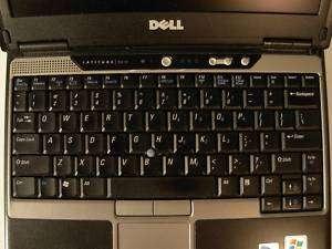 Tastatur Dell D410 ++ Taste nach Wahl++ (Englisch)