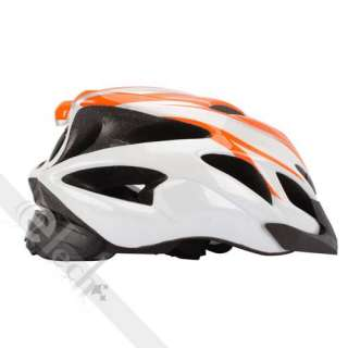 New Cool 18 Holes Bike Bicycle Cycling Sports Adult Helmet Orange Size