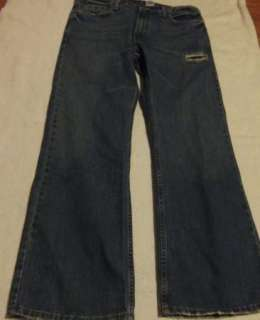 Mens Sz 35/ 36 x 30 Levis 527 Low Boot Cut Jeans