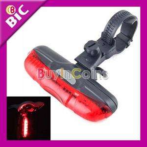 Mode Cycling Bicycle Bike Caution Safety Rear Tail Lamp Light