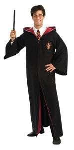 DELUXE HARRY POTTER HALLOWEEN COSTUME GRYFFINDOR ROBE Adult Men 889785