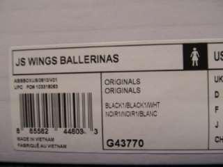 Adidas ObyO Jeremy Scott JS Wings Ballerinas Ballerina Flat Shoe Black