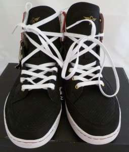 CREATIVE RECREATION/CR8REC SOLANO BLACK/RED SNEAKERS/SHOES 8.5/EUR 41