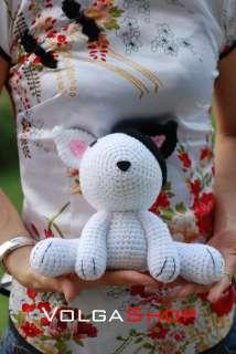 Crocheted Stuffed Handmade Doll Toy Animal Gift Birthday New Year