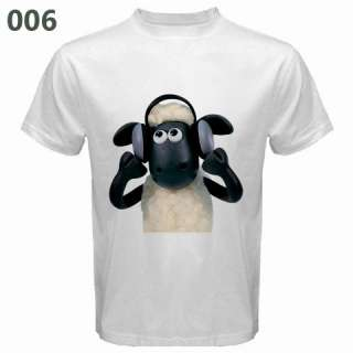 SHAUN THE SHEEP WHITE SHIRT COLLECTION *ASSORTED DESIGN