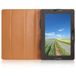 Leather Case Cover+stand for Blackberry Playbook