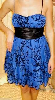Cocktail Formal Emma Dress Tie Back Padded Bra $68 size S M L