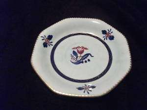 Plate Marked Adams Hand Painted Calyx Ware England