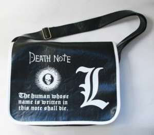 Neu Death Note Anime Manga Messenger Tasche Bag 001