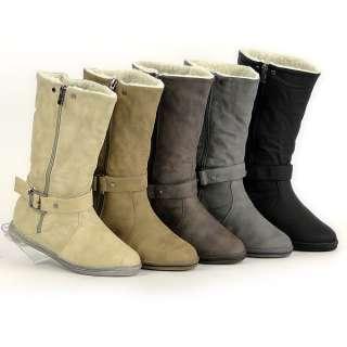 Winter Stiefel Gefüttert 91242 Warme Damen Schuhe 36 41