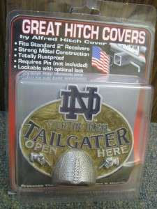 Notre Dame Irish NCAA Tailgater Truck Trailer Hitch Cover