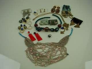 lot + 925 Sterling Silver Ring Rhinestone Pearl Treasure Hunt Gold VTG