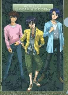 Gundam seed destiny clear file folder Athrun kira Shinn official Japan