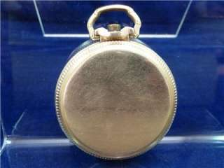 1925 21J 60 Hour 6 Pos. LS Illinois Bunn Special Pocket Watch
