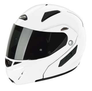 NITRO F341 VN FLIP MOTORCYCLE MOTORBIKE HELMET WHITE