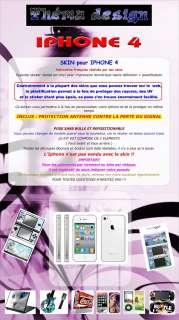 SKIN   STICKER   IPHONE 4   MONSTER HIGH 177 + FOND ECRAN