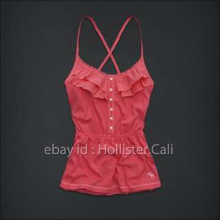 ABERCROMBIE KIDS A&F GIRLS PINK ALEXA TOP LARGE *BNWT*