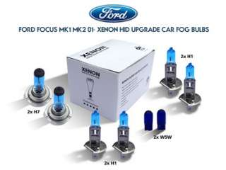 FORD FOCUS MK1 MK2 01  XENON HID UPGRADE CAR FOG BULBS